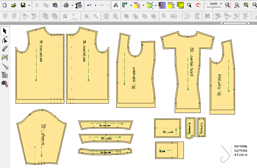 Shirt Pattern CAD Pattern Making Software